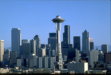 Seattle houseboat rentals - Seattle Washington skyline
